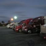 Truck station. Nocleg dla truckerów.