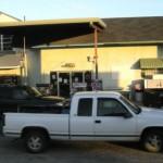 """Stacja benzynowa - Gas station, Ameryka """"C""""."""