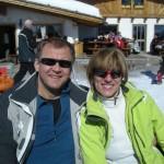 Wielce zadowoleni uczestnicy wyjazdu. Na narty. :-))