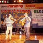 Występowaliśmy tam wspólnie z Jasiem Piotrkowskim - tutaj próba akustyczna przed koncertem.