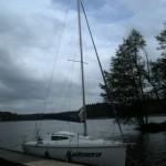Nasze żeglujące locum: ANTILA 26 - KALIMERA (Dzień dobry-grec.) To ja zaproponowałem taką nazwę dla tego jachtu. O! :-))