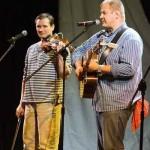 Janusz Piotrkowski i ja - na scenie Kopyści 2007