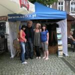 Ekipa pięknych dziewcząt z Wydziału Promocji UM w Ustce, którą reprezentowaliśmy z Leszkiem w Bielsku.