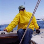 Kasia - autorka,żeglarka, uczestniczka mini-jachtingu.