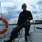 Kasia - dzielna żeglarka!!!