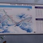 Odwiedziłem latem również te miejsca, w których bywam zimą - w celach narciarskich. Tutaj: Czyrna-Solisko.Szczyrk.