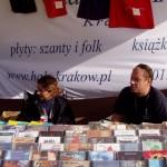 Ania i Krzysztof Bobrowiczowie. Dyrektorzy krakowskich SHANTIES. Tutaj - na stoisku HALS-u.