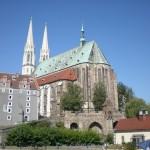 Widok na Kościół w Gorlitz. Od strony Zgoorzelce. Ale to już zupełnie inna historia...
