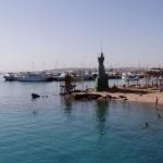 Ostatni rzut oka na port rybacki i łodzi nurkowych. Do zobaczenia Al Ghardakha...