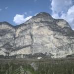 Widoczek z okolic autostrady północ-południe. Włochy.
