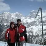 Jeszcze raz: Kasia i ja. Juz w innym miejscu. Ale góry - te same. :-))
