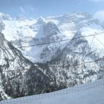 Rzut oka na Dolomity z Val di Sole.