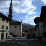 Obrazek z Pinzolo.  Tam wszyscy mieszkaliśmy.