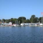 Rzut oka na port w Giżycku - z wody.