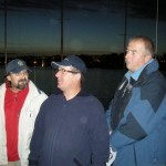 Dwaj Andrzeje. A. Szynkiewicz (w środku) - producent najszybszych w kraju jachtów klasy OMEGA i A. Moroński (z prawej) - zdobywca tytułu Mistrza Polski 2008 r. w tej klasie. Oczywiście na łodzi od JĘDRKA!