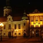 Piękna kamienica na pszczyńskim Rynku. O ile dobrze pamiętam, to jest Ratusz Miejski.