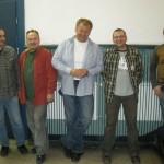 Zespół muzyczny towarzyszący mi podczas koncertu premierowego (od lewej): Mariusz Wilke, Leszek Bolibok, ja, Adam Skrzyński, Radek Kruszyna.