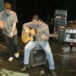 """""""Mariaszek"""" tym razem grał na basie. Zazwyczaj - na gitarze elektrycznej."""