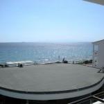 ...i na wprost! Morze Egejskie!