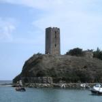 Kamienna wieża z czasów Bizancjum.