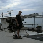 Znowu rybackie klimaty w porcie Nea Skioni